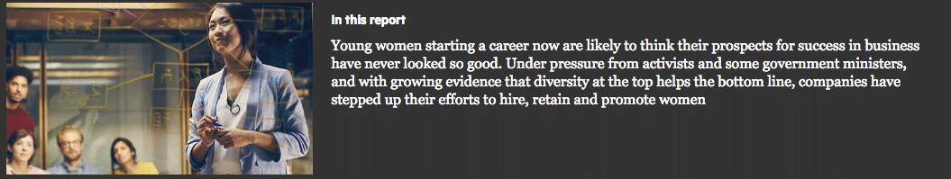 Special Report: Women in Business