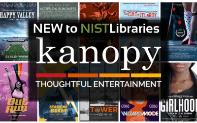 NEW to NIST libraries : Kanopy video streaming