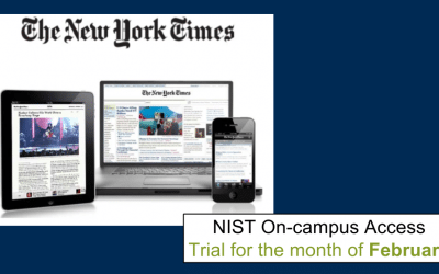 Read the The New York Times free this February