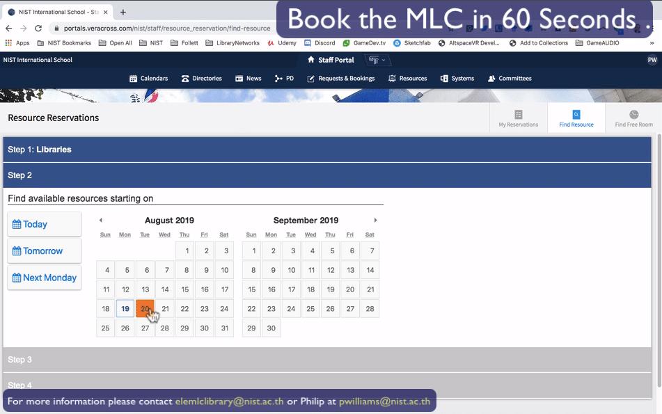 MLC Booking 05