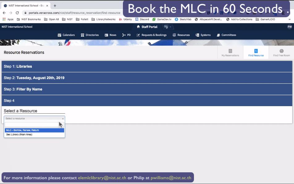 MLC Booking 07