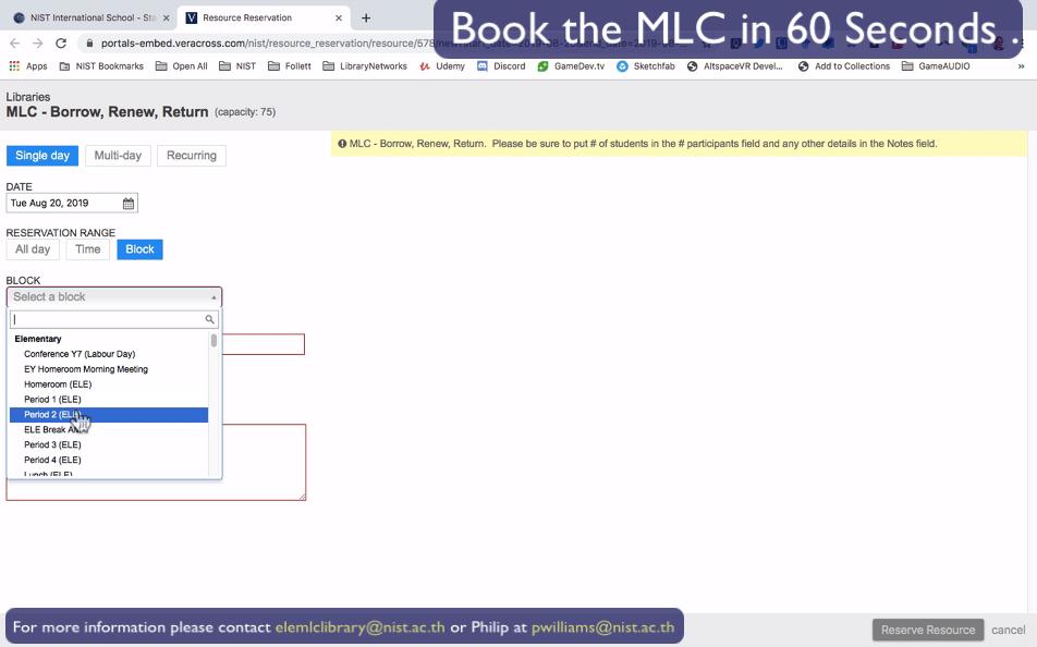 MLC Booking 09