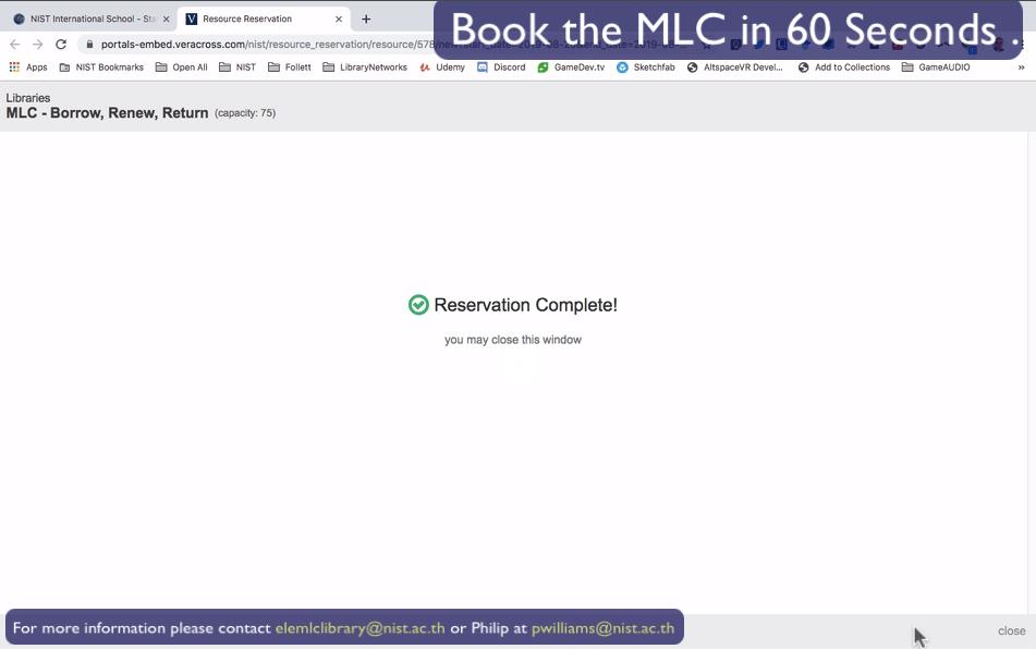 MLC Booking 11
