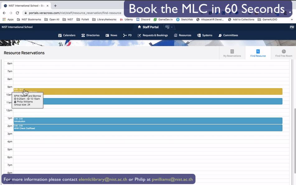 MLC Booking 12